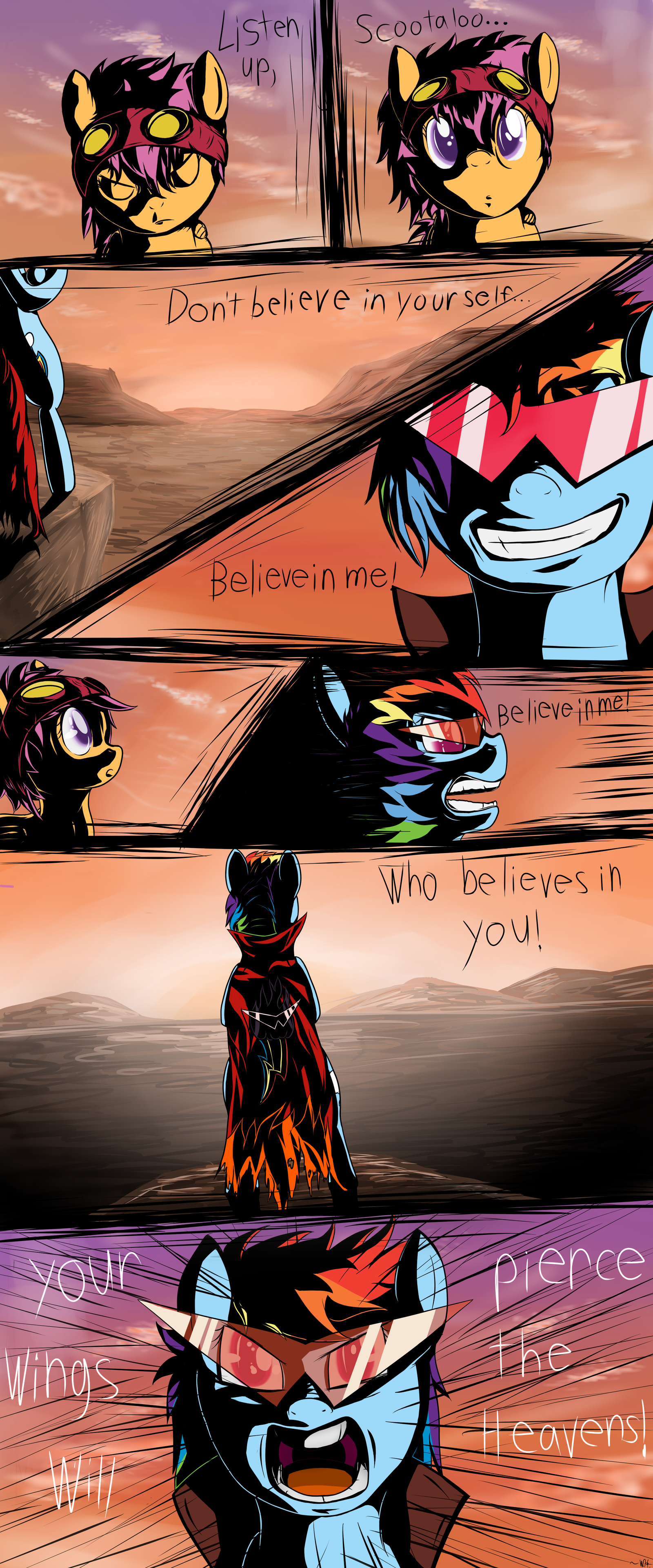 Believe in who believes in you! by Brony2you