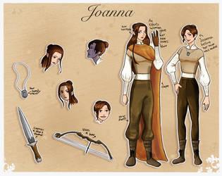 Joanna Character Sheet