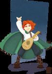 Kvothe - Lute Hero