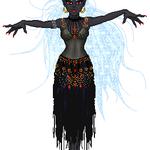 Drow Priestess by atlantisak