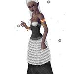 Drow Priestess 2 by atlantisak