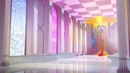 Celestia's Throne Room 3D WIP 2