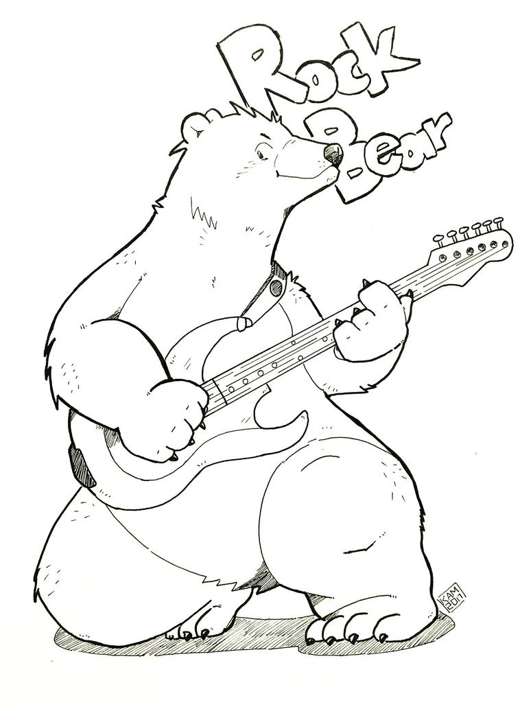 Rock Polar Bear by Kamui270