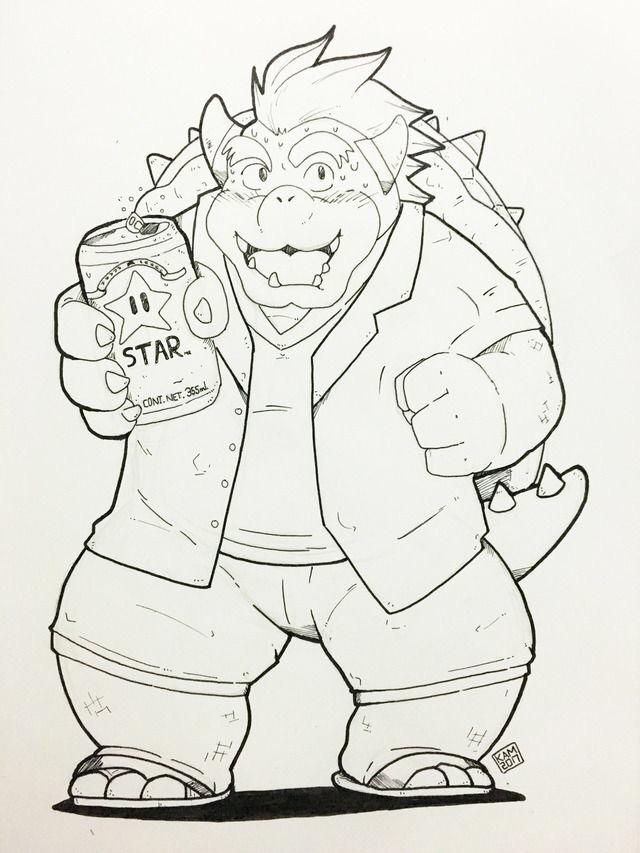 Bowser Beer by Kamui270