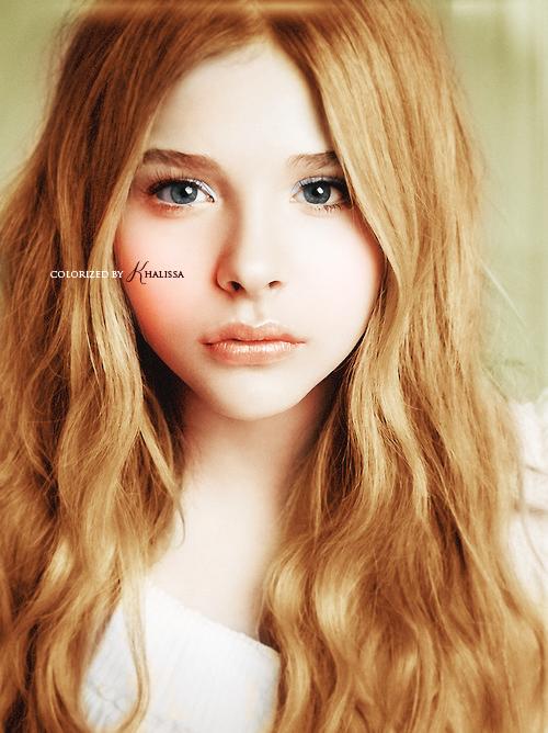 Colorizacion Chloe Moretz by Koo-chan