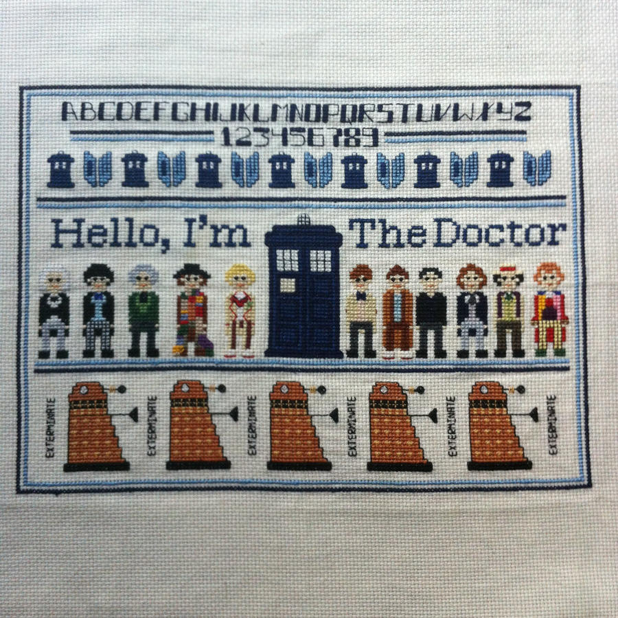 Wibbly Wobbly Stitchery by surrexi