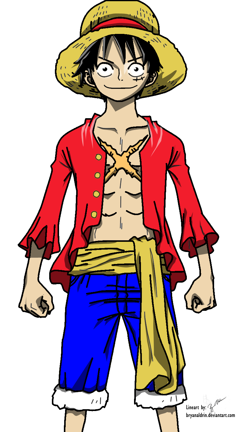 Luffy Post Time skip Colored by bryanaldrin on DeviantArt