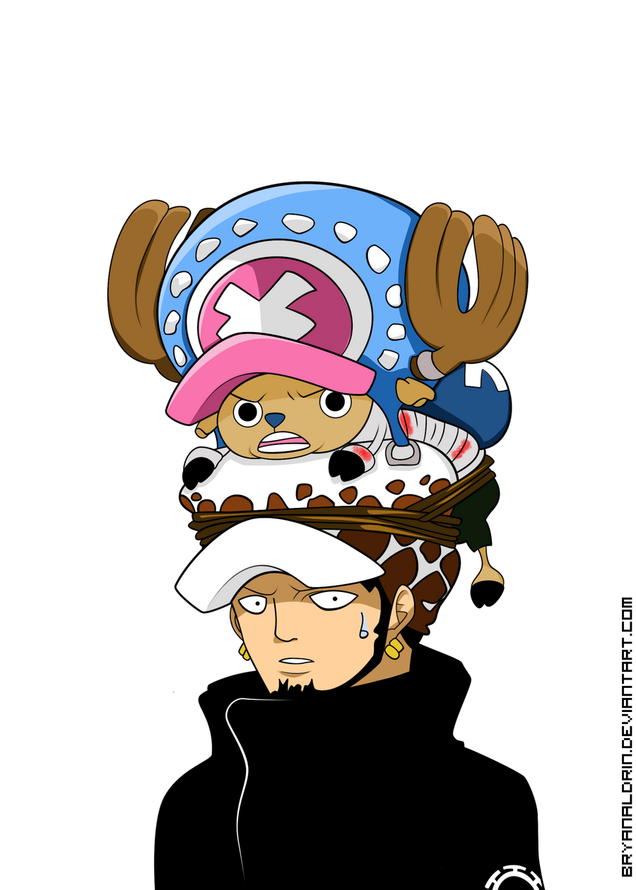 Chopper Law Lineart Colored by One Piece Chopper 2 Years Later