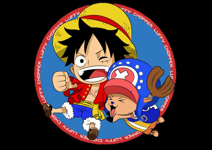 Chibi Luffy and Chopper by bryanaldrin on DeviantArt