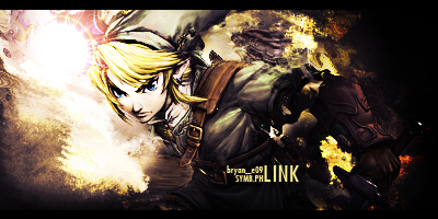 Link Signature by bryanaldrin