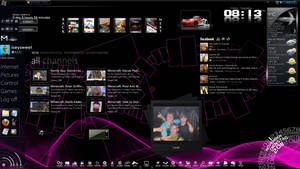 My Desktop with Rainmeter