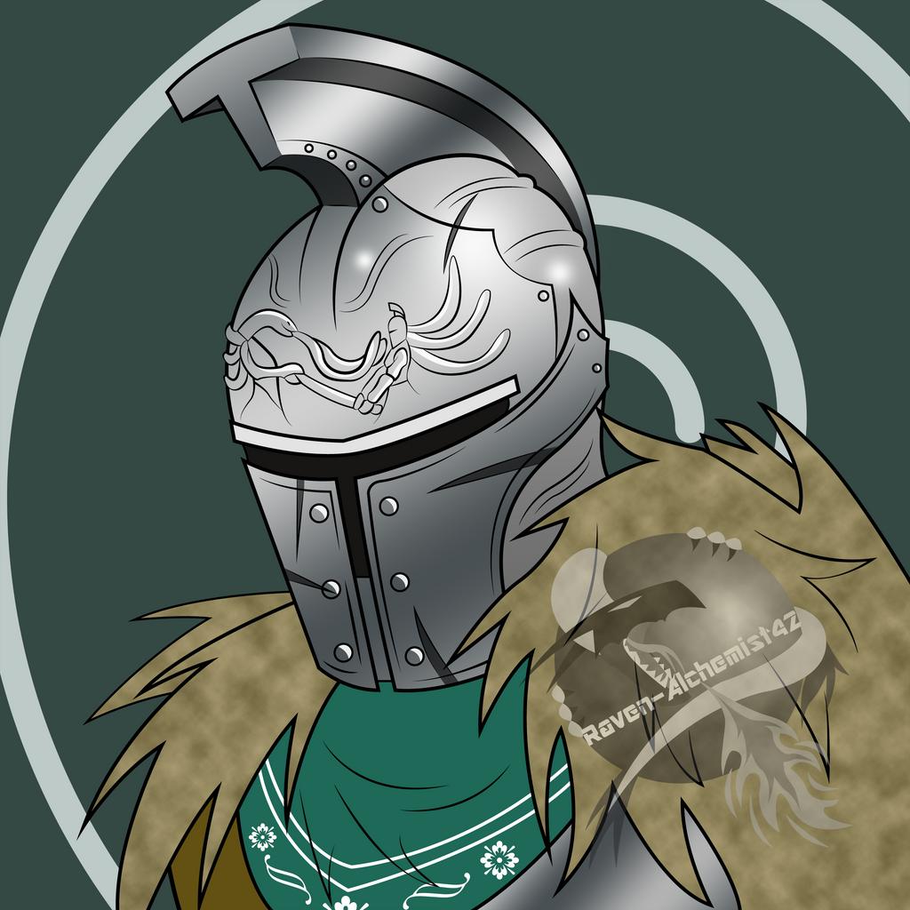 Forgotten Warrior - Commission - Lothian by Dreamer-Of-Ravens