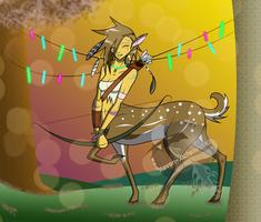 The Redplains Sadie - Commission - Centaur by Dreamer-Of-Ravens