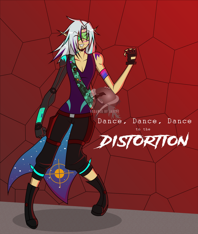 Dance to the dIsTOrtIOn by Dreamer-Of-Ravens
