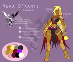 Vera D'Kanti - Character Sheet
