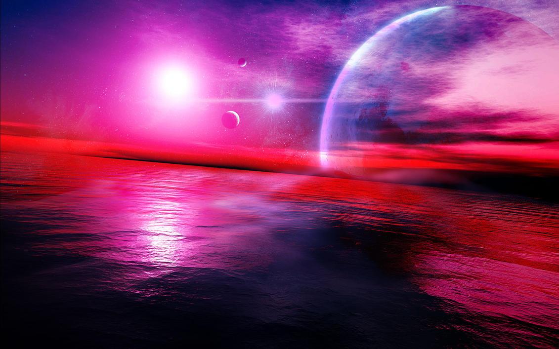 cosmic sea -lighter version- by link-omthsed