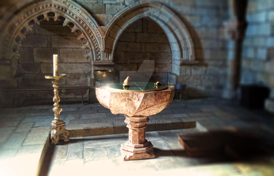 Pia Baptismal by Xispes