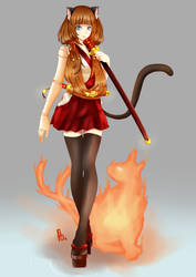 Mona Fire Spirits by fbspp