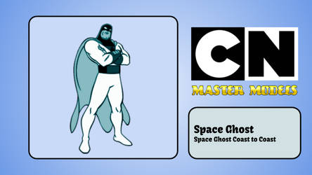 Cartoon Network Master Models - Space Ghost by AlmightyDF