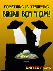 Cartoon Invasion: SpongeBob Poster! by AlmightyDF