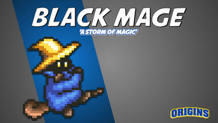 Fighter Card | Black Mage