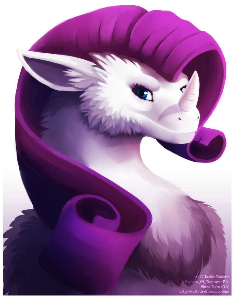 Rarity Dragon by Essence-Of-Rapture
