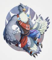 (c) LucarioOcarina Rito by Essence-Of-Rapture