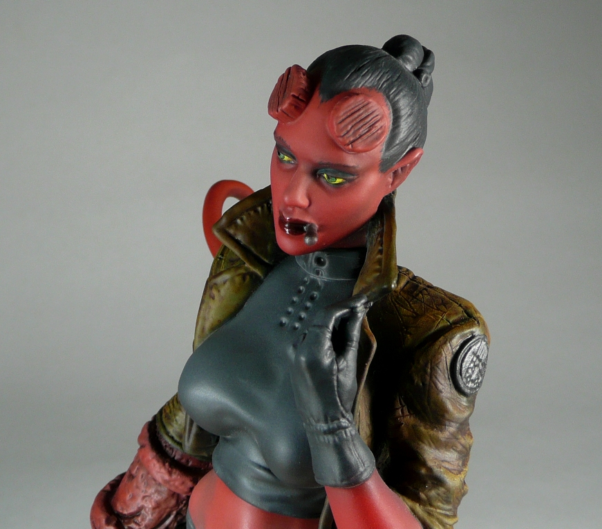 Hellgirl, Garage Kit by Harkon72