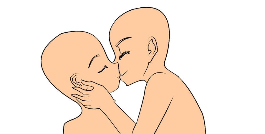 Kissing Base by xxPineappleHeadxx on DeviantArt