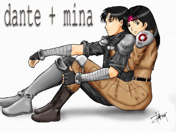 Pasig Fanart: Dante + Mina by ryne
