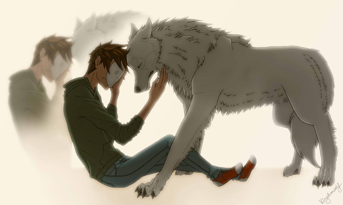 sad wolf crying drawing wwwpixsharkcom images