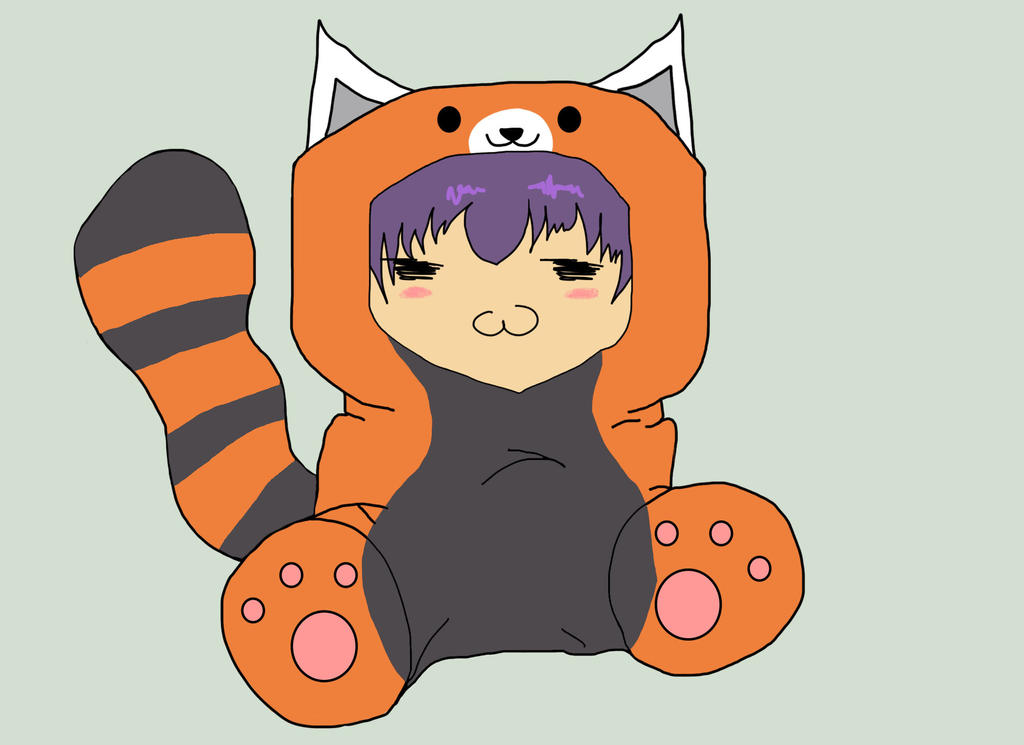 Chibi red panda - photo#13