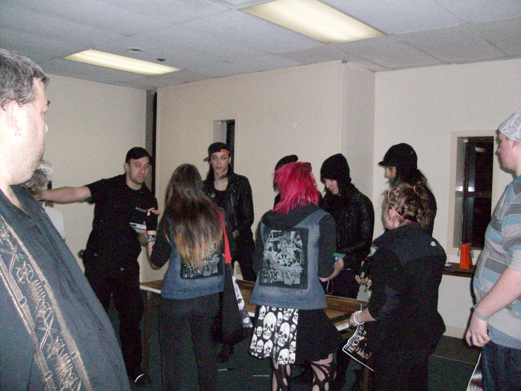 Bvb Church Of The Wild Ones Tour Meet And Greet 1 By Tsukiyamas On