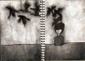 the Boy Named Crow by nifty-ness