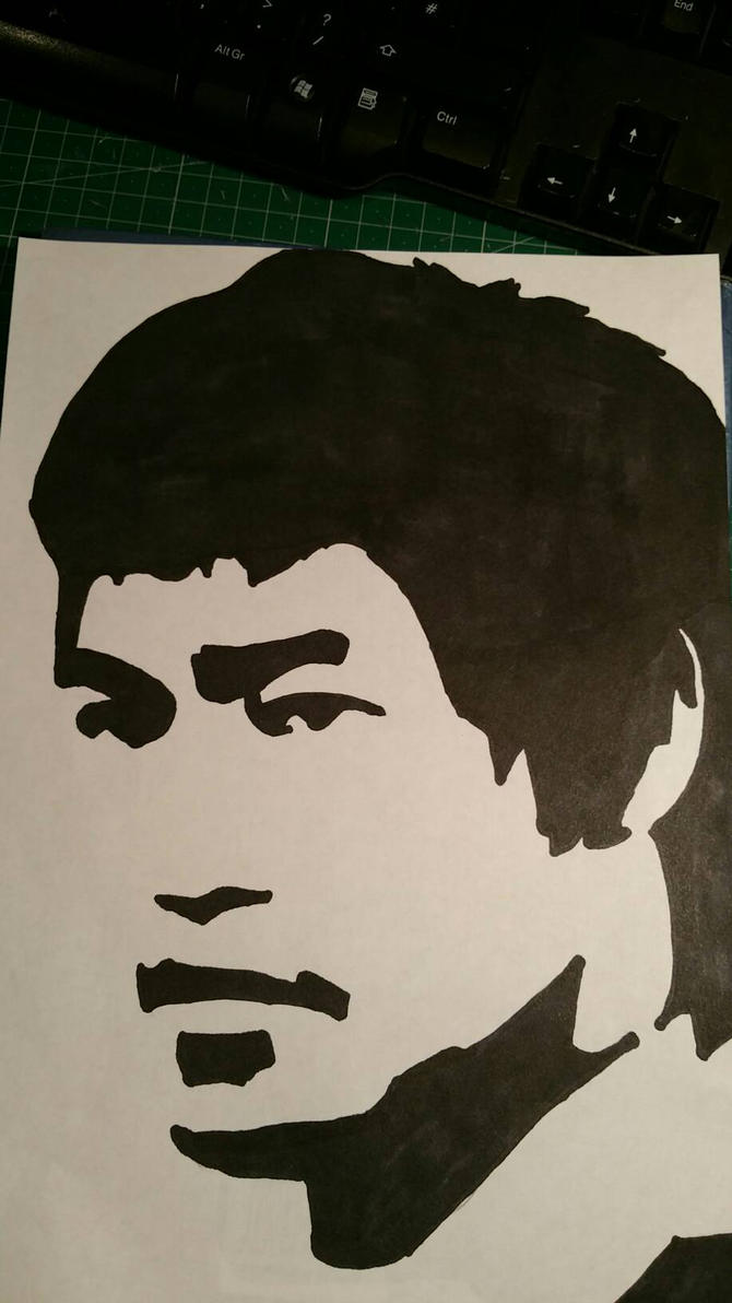 Bruce Lee  by Hmcmurray