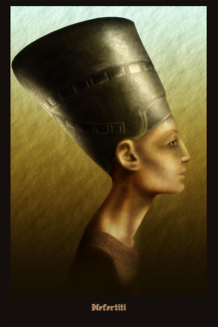 Egyptian Queeen Nefertiti by vissroid