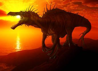 Spinosaur Angaturama by vissroid