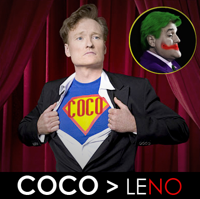 Conan O'Brien vs. Jay Leno by jsos