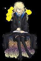 Luna Lovegood by AnonAzure