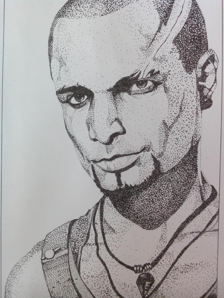 Michael Mando as Vaas by AnonAzure