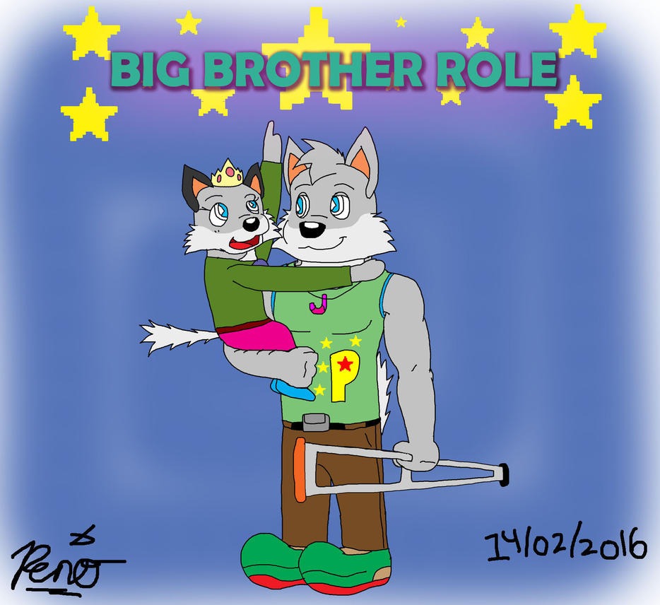 the role of big brother in To my brother and my role model  my brother is seven years older than me, so we do not have that typical big brother/little sister relationship.