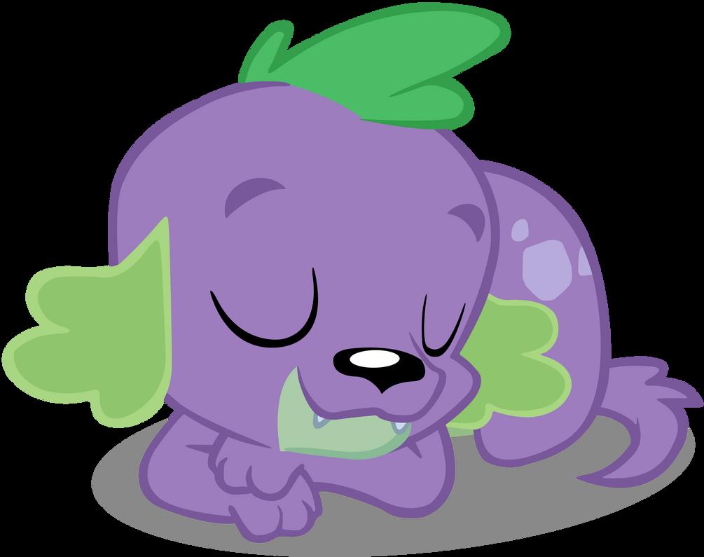 Sleeping Dog Spike Vector by cool77778