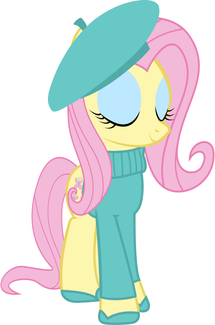 French Fluttershy Cool Deviantart