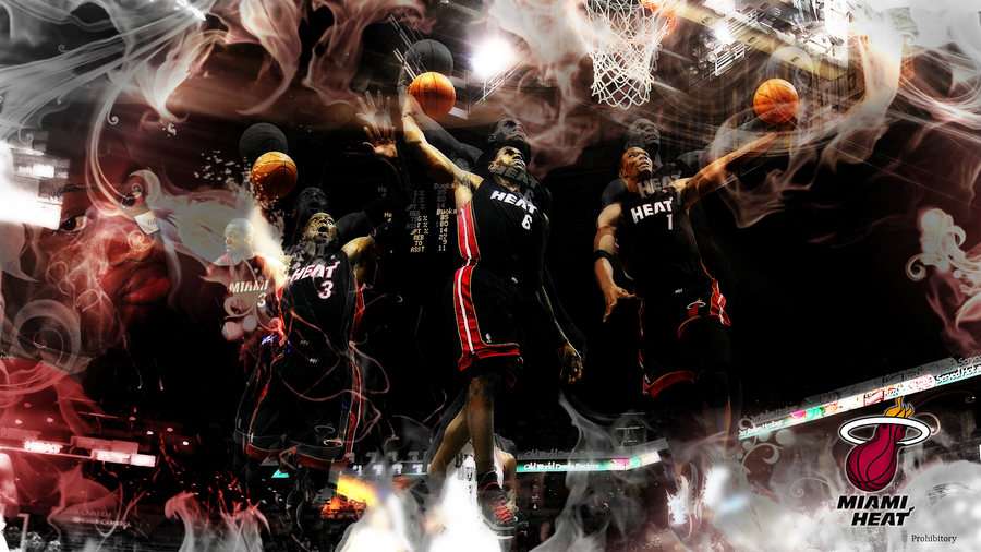 Miami heat big 3 by theprohibitory on deviantart miami heat big 3 by theprohibitory voltagebd Image collections