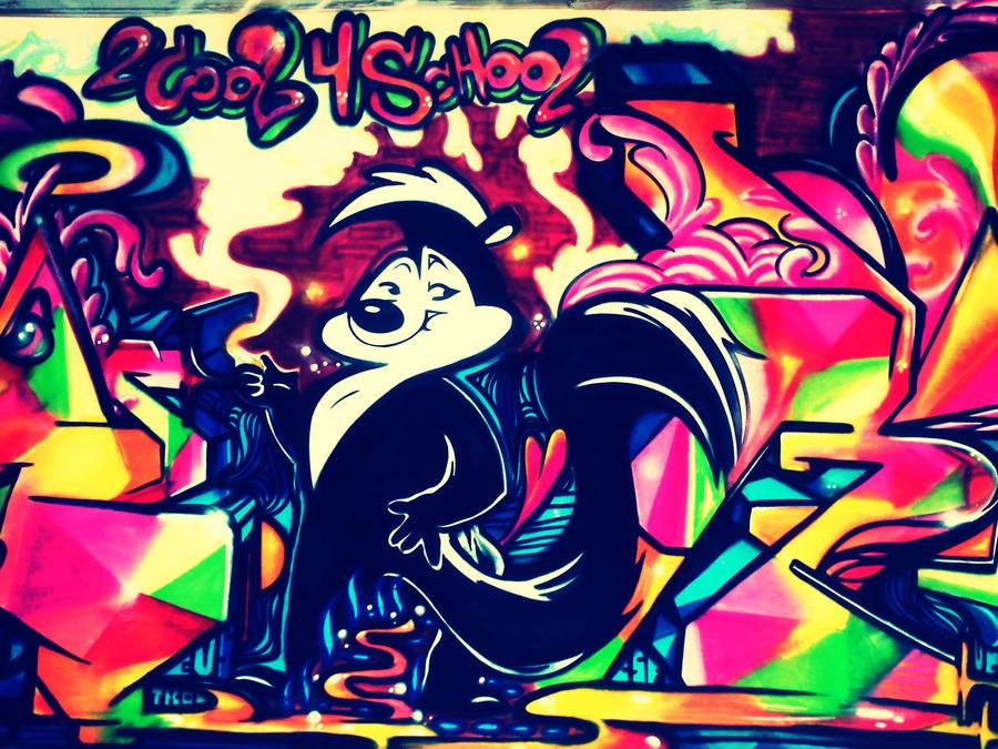 Graffiti School by SugarEager
