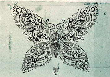 butterfly ornament by anomkojar