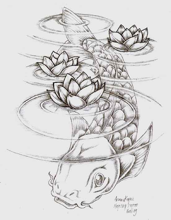 Koi under water by anomkojar on deviantart for Koi japones