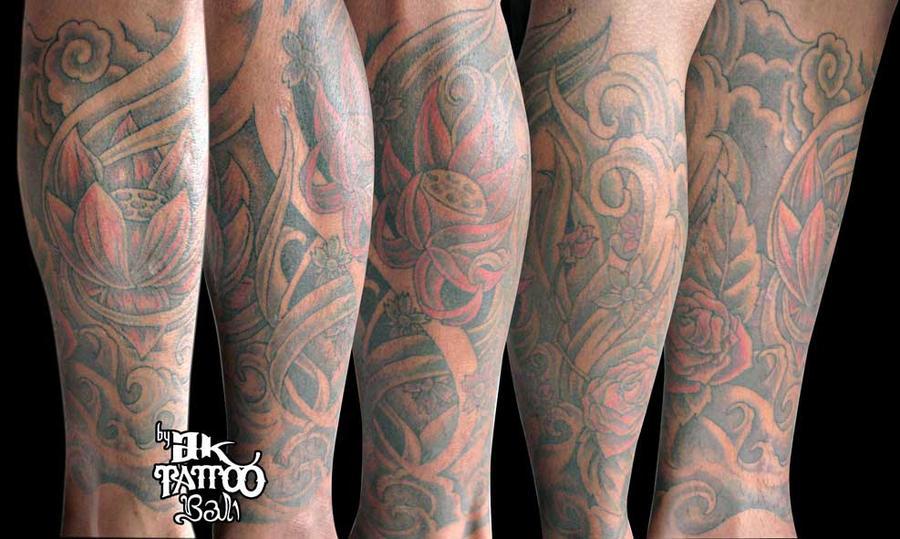 flower garden - flower tattoo