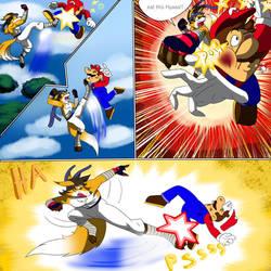 Smash Bros Champion Comic by zahnholley
