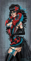 The day of the dead girl
